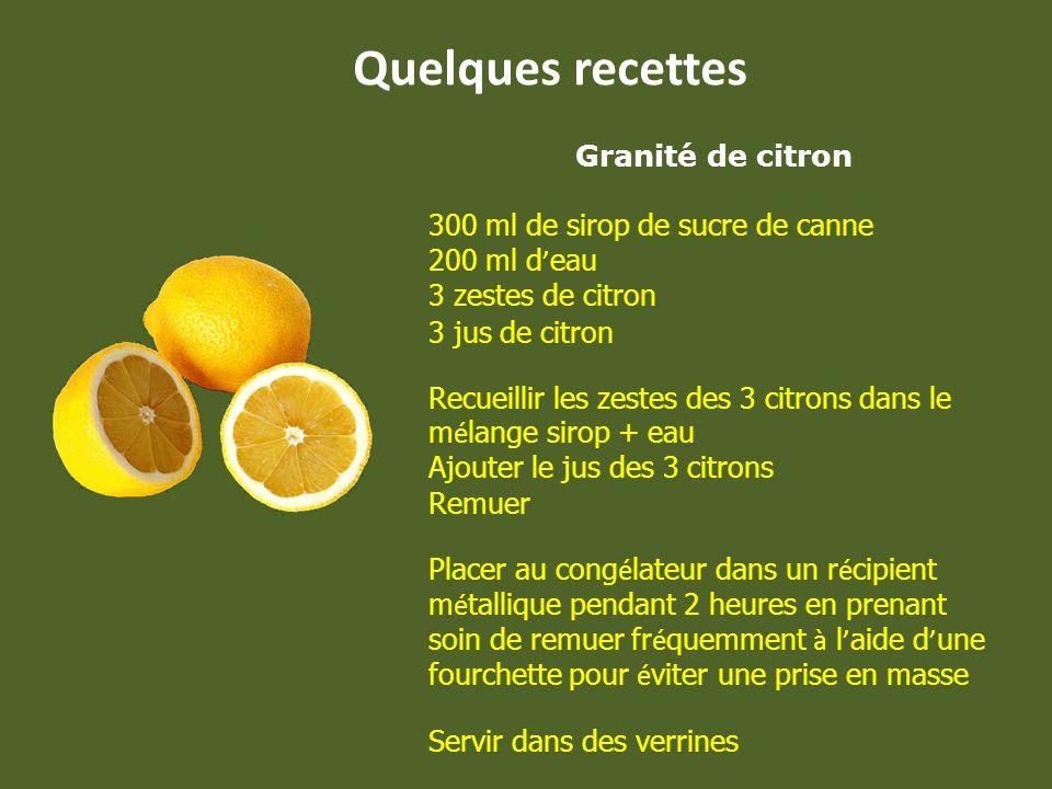 - Afin déviter à vos fruits et légumes de noircir, appliquez un peu de jus de citron dès que vous les avez coupés. - Pour se débarrasser des fourmis,