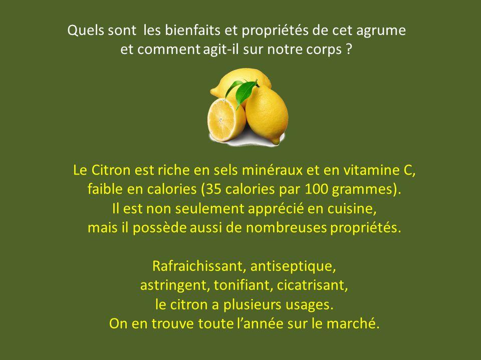Le citron était autrefois appelé limon, nom de litalien limone, de lespagnol lima, de larabe laymûn, du persan limou, du sanscrit nimbú. Son origine e