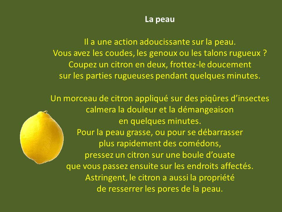 Agua limon 10 citrons ; 2 l d eau ; 30 morceaux de sucre Râper les zestes et les faire infuser dans un bol deau chaude.