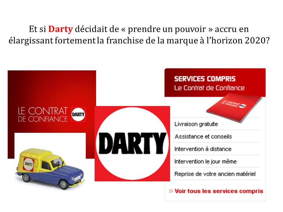 Et si Darty décidait de « prendre un pouvoir » accru en élargissant fortement la franchise de la marque à lhorizon 2020?