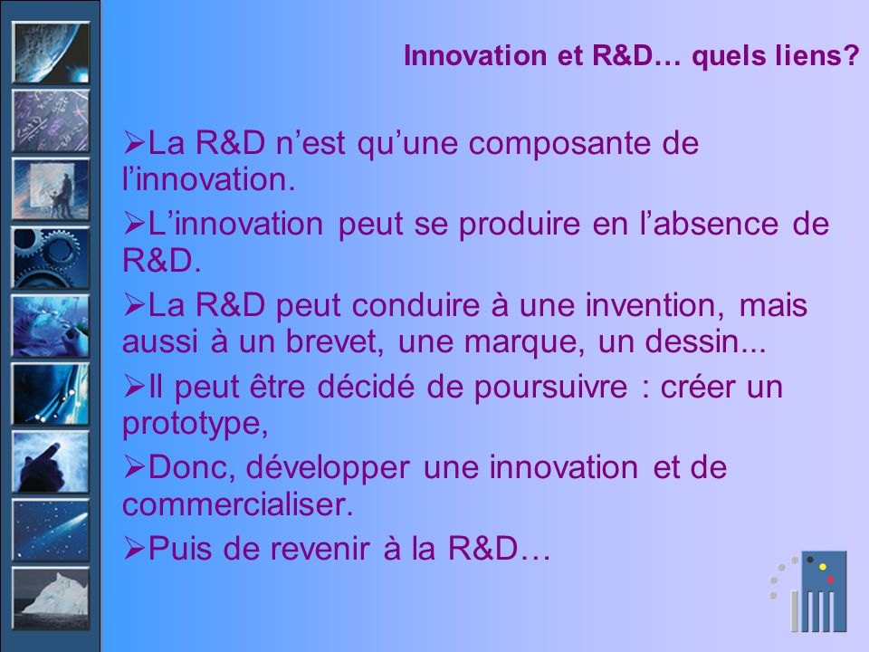 Structure des dépenses dinnovation, voit-on lopen innovation .