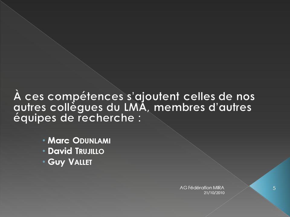 21/10/2010 AG Fédération MIRA 5