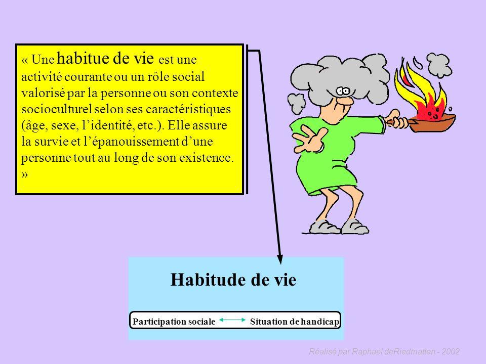 Réalisé par Raphaël deRiedmatten - 2002 Facteurs environnementaux Habitudes de vie Interaction Facteurs de risque Cause Facteurs personnels Système or