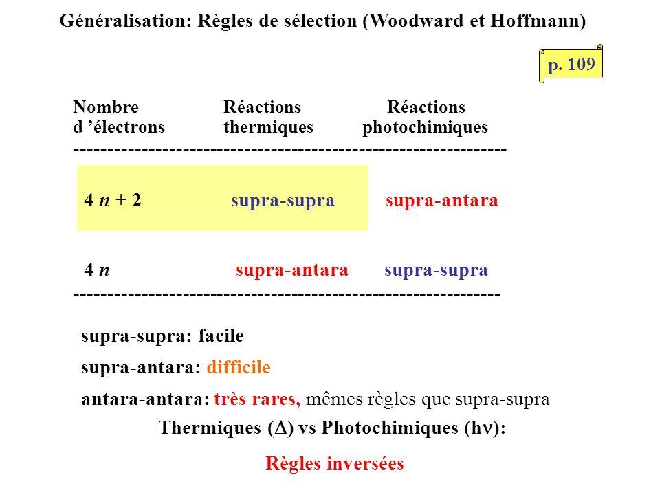 Nombre Réactions Réactions d électrons thermiques photochimiques ---------------------------------------------------------------- --------------------