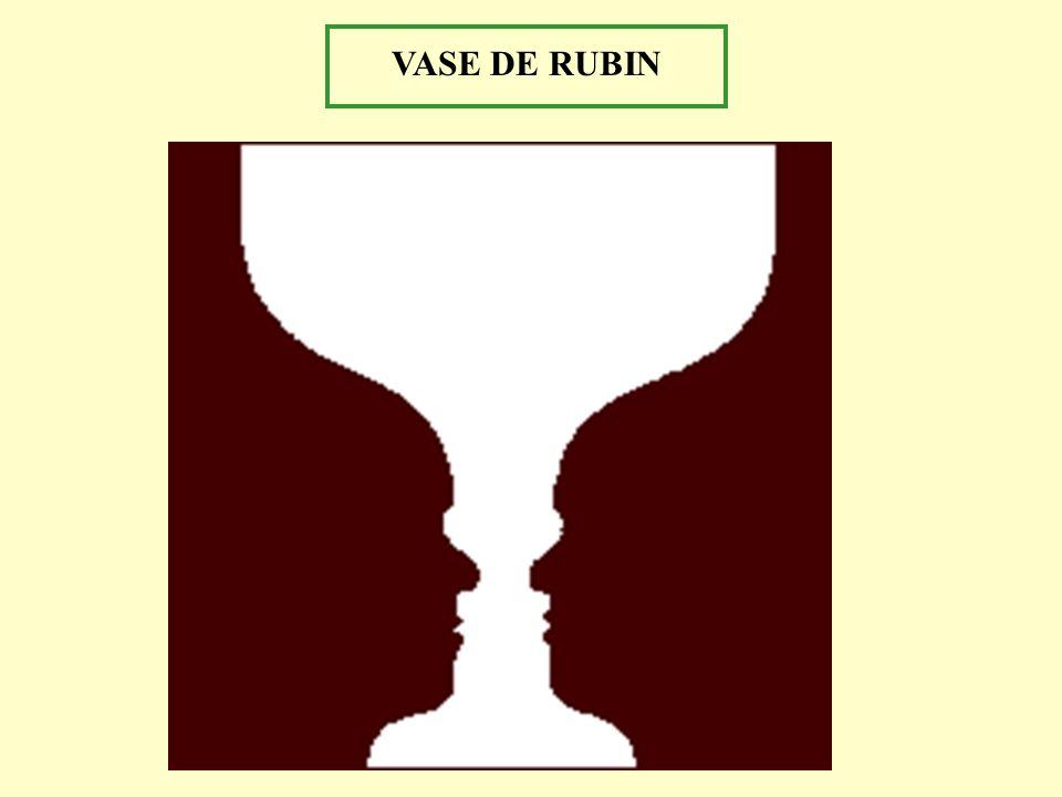 VASE DE RUBIN