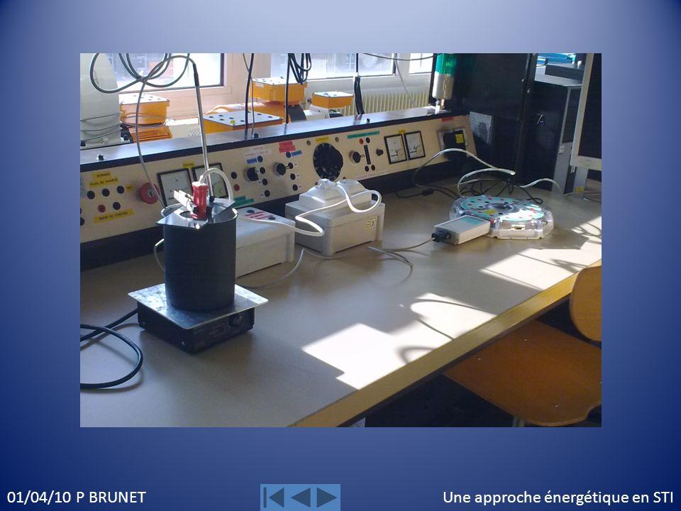 Une approche énergétique en STI01/04/10 P BRUNET Bilan de puissance pendant la chauffe