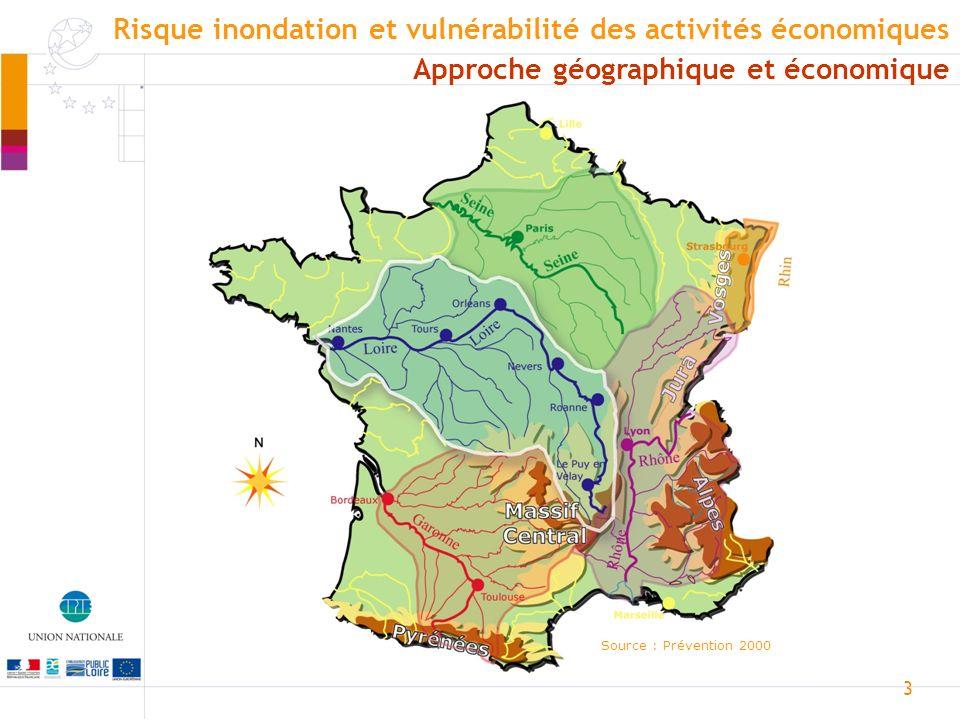 4 Approche géographique et économique Risque inondation et vulnérabilité des activités économiques