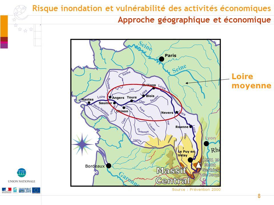 9 Source : Prévention 2000 Le fleuve ralentit sa course, dépose des matériaux, crée des bras secondaires, des îles, et des affluents viennent grossir le cours principal.