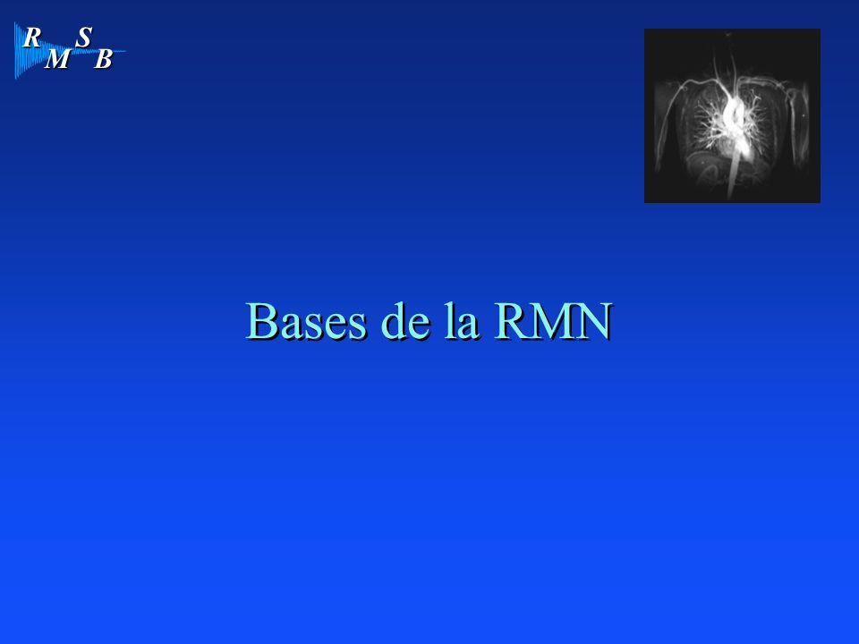 R M S B Bases de la RMN