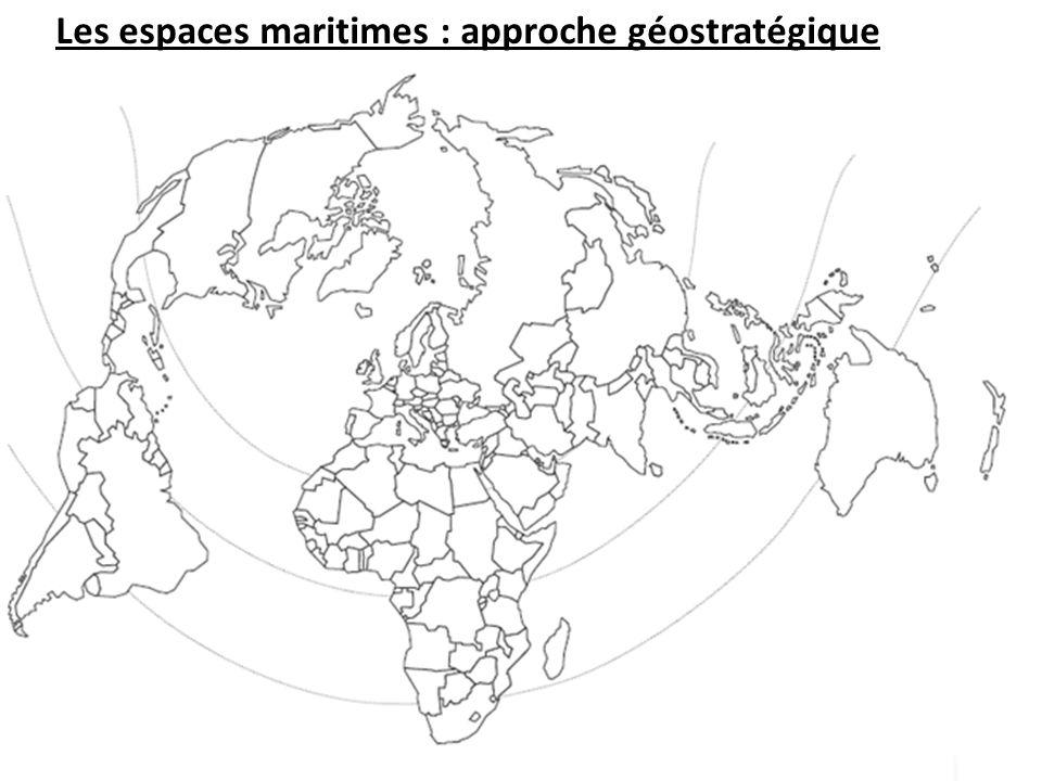 I Les espaces maritimes, territoires au cœur de la mondialisation Principales façades maritimes Principales ZIP