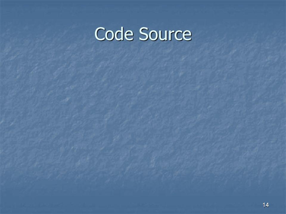 14 Code Source