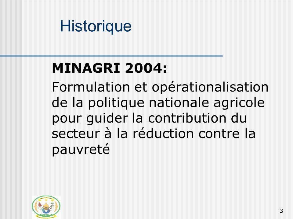 4 ……., Elaboration de la politique nationale (02-06 2004) Operationalisation de la PNA (07-10 2004) Processus de Validation (10-11 2004) Communication aux partenaires (11-12 2004) 2005: Phase de Transition 2006-08 : Mise en oeuvre