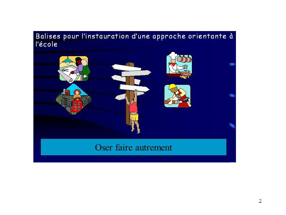 1 Approche orientante Adaptation par: Line Boucher, c.p.