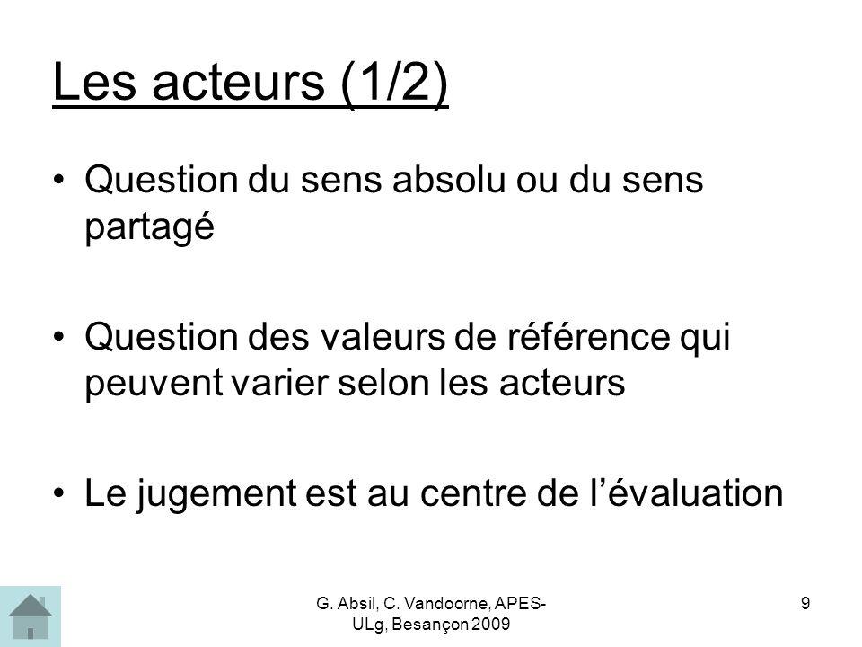 G.Absil, C.