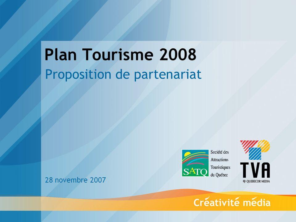 La mise en contexte TVA ET LA SATQ AU SERVICE DU PRODUIT TOURISTIQUE QUÉBÉCOIS TVA et la SATQ, en collaboration avec les ATR, ont démontré au fil des années, leur engagement à promouvoir le produit touristique québécois, secteur vital de notre activité économique.