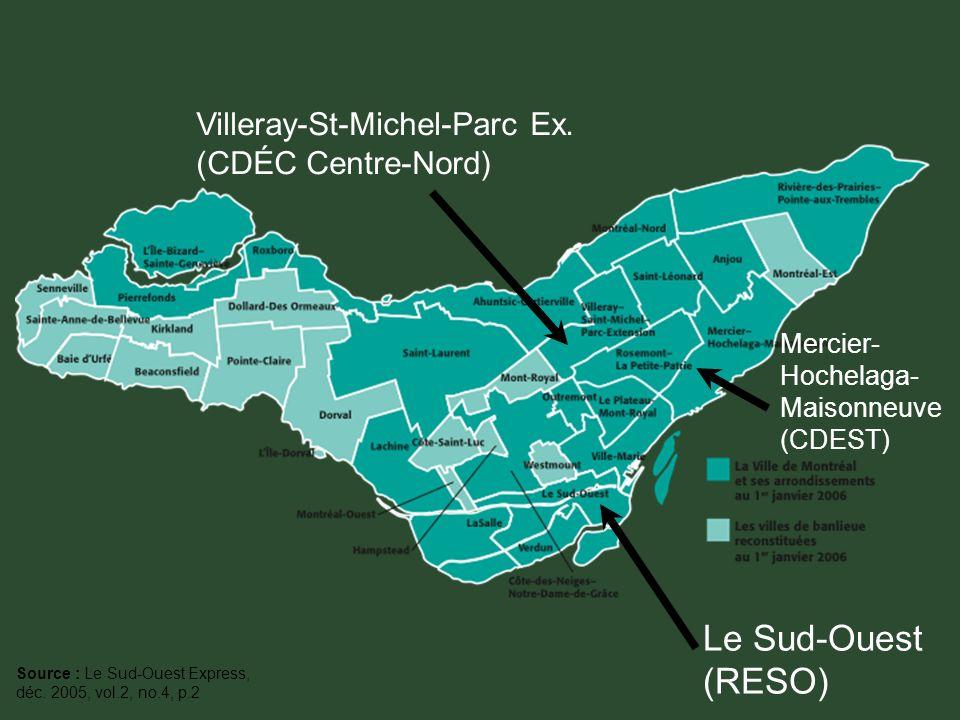Le Sud-Ouest (RESO) Villeray-St-Michel-Parc Ex.