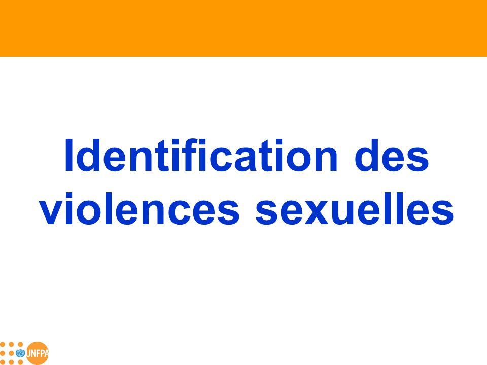 Identification des violences sexuelles