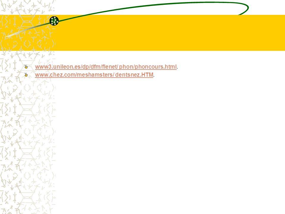 www3.unileon.es/dp/dfm/flenet/ phon/phoncours.htmlwww3.unileon.es/dp/dfm/flenet/ phon/phoncours.html.