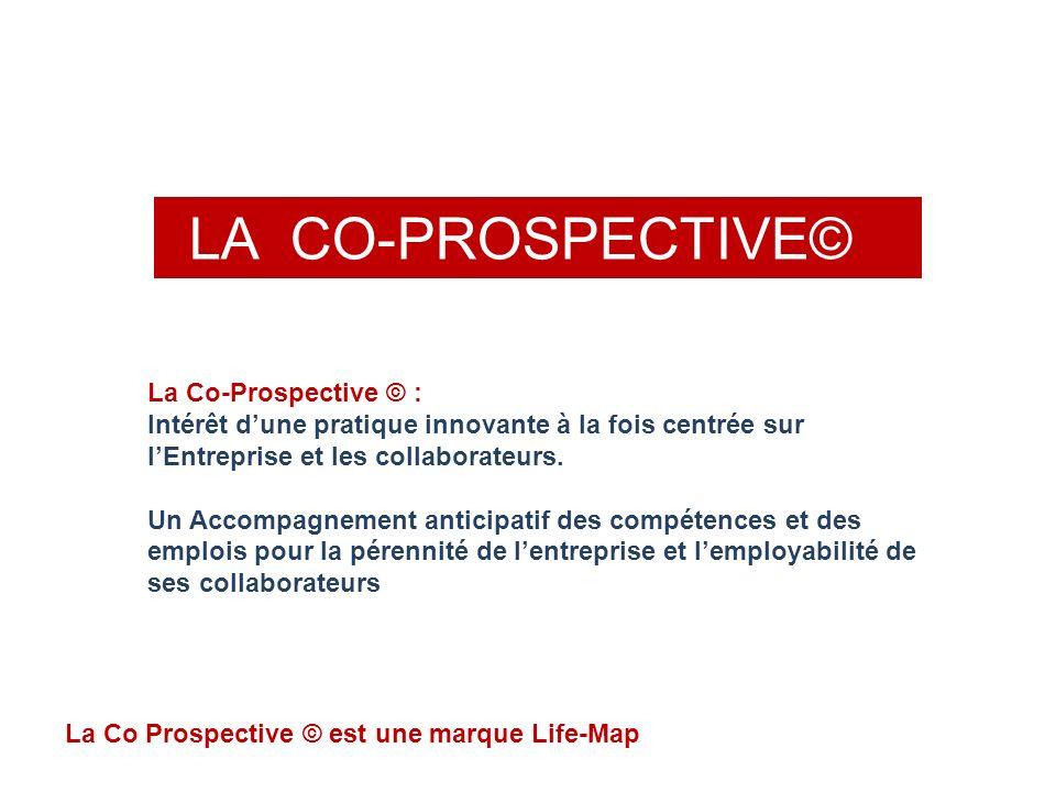LA CO-PROSPECTIVE© La Co Prospective © est une marque Life-Map La Co-Prospective © : Intérêt dune pratique innovante à la fois centrée sur lEntreprise et les collaborateurs.