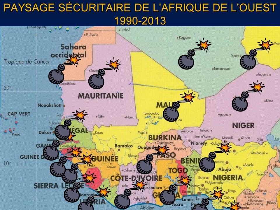 PAYSAGE SÉCURITAIRE DE LAFRIQUE DE LOUEST 1990-2013
