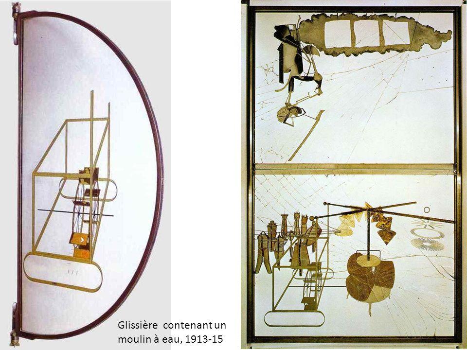 Glissière contenant un moulin à eau, 1913-15