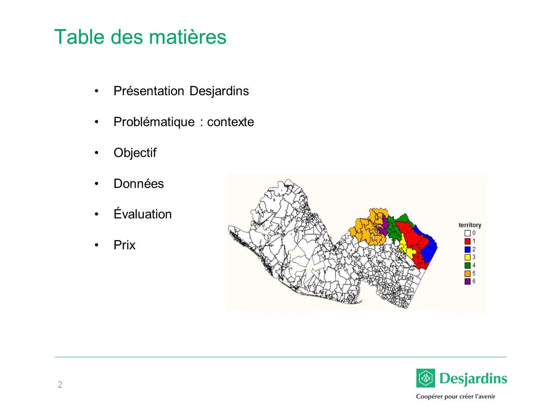 3 Le marché de lassurance de dommages* * Données 2012, source MSA Research ** Incluant la récente acquisition des activités canadiennes de State Farm #Compagnie PBS (en M$) Part de marché 1Intact7,20216,3% 2DGAG**3,8288,7% Particuliers (2)3,60813,1% Automobile (2) 2,55314,1% Québec (2) 52219,0% Ontario (1) 1,79816,5% Habitation (2)1,05511,1% Entreprises (20)2201,3% 3Aviva3,5508,0% 4RSA2,8436,4% 5TD Assurance2,7076,1%