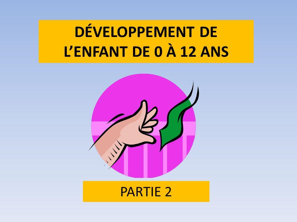 DÉVELOPPEMENT DE LENFANT DE 0 À 12 ANS PARTIE 2