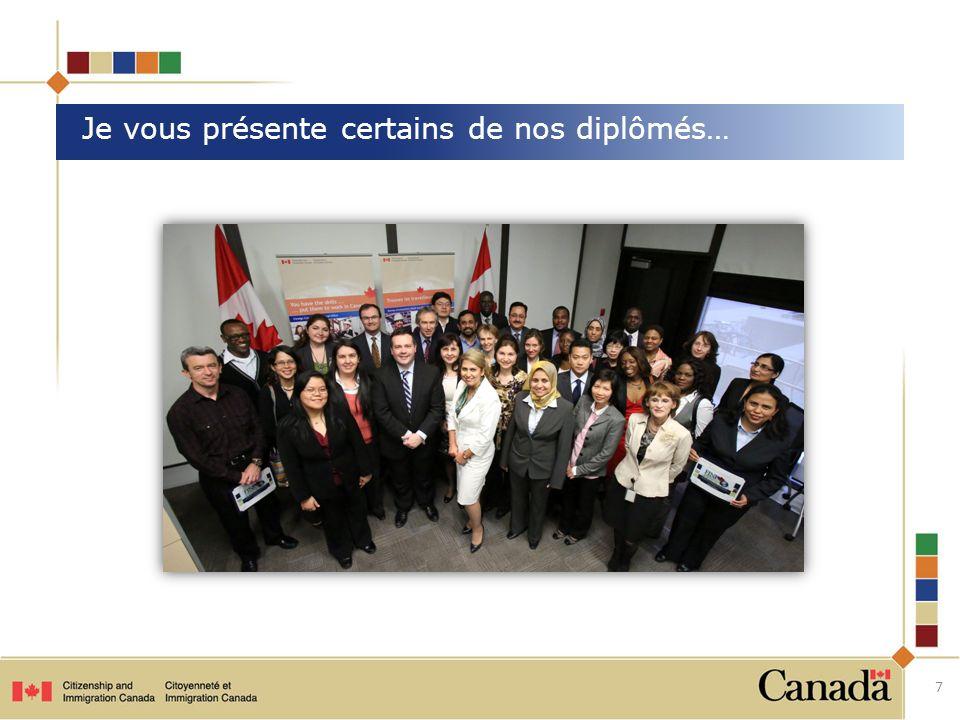 Son histoire : Venant du Vietnam, il a immigré au Canada avec sa famille à titre détudiant au doctorat en 2005; il est devenu résident permanent en 2008.