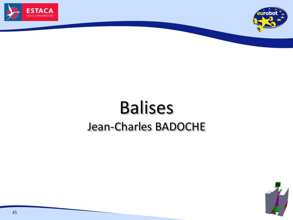 Balises Jean-Charles BADOCHE 45