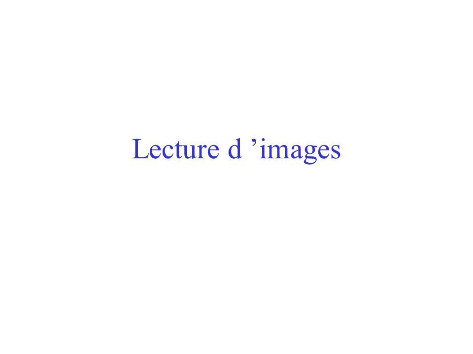 Lecture d images