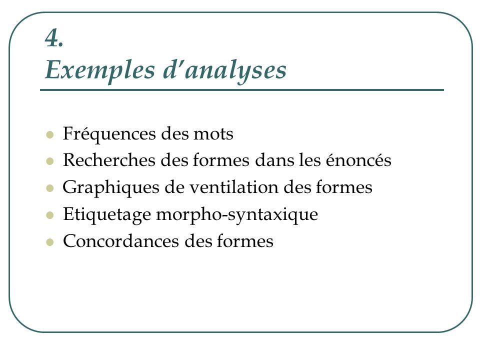 Extraits du dictionnaire des formes énoncées par ladulte et par lenfant dans le corpus longitudinal de Julien (comprenant 3 dialogues) analysé par Lexico3
