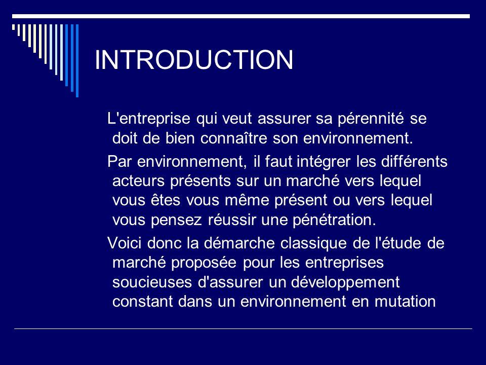 Aspects Quantitatifs Indicateurs : - formes de commerce, - points de vente, - quantités distribuées en valeur, en volume - (totaux, variations, prévisions)