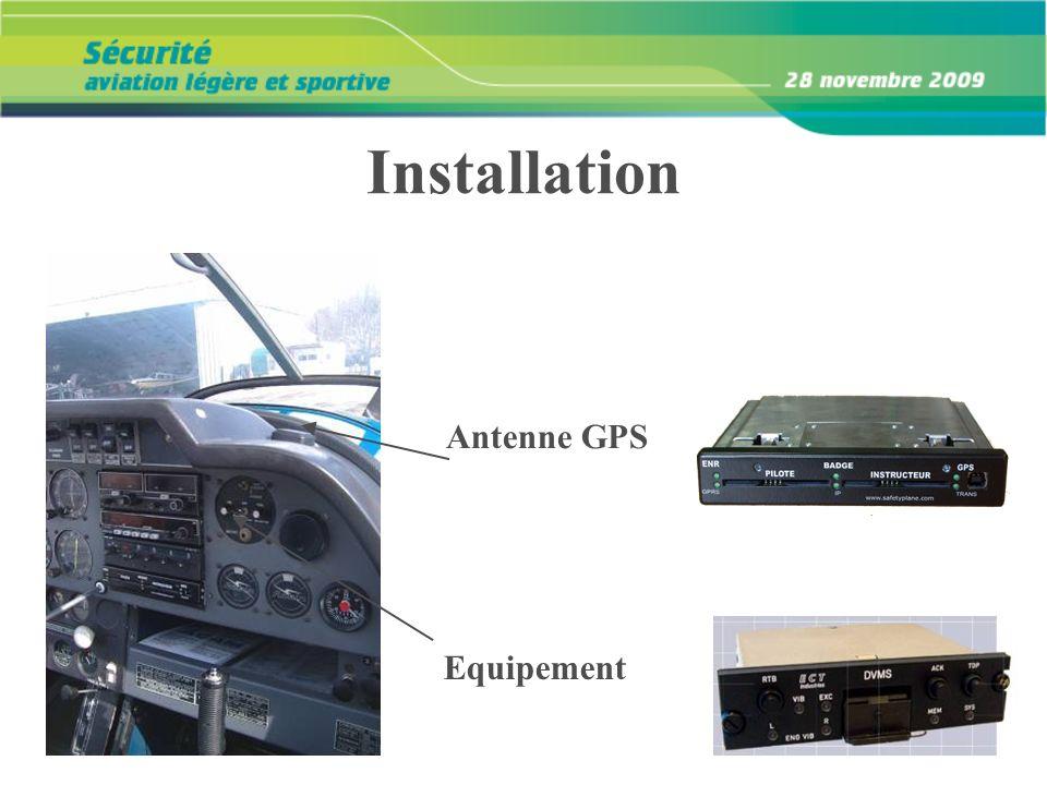 Installation Equipement Antenne GPS