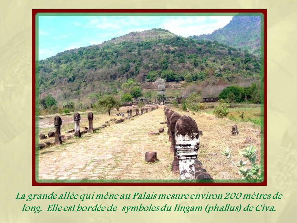 Le Wat Phou vaut à lui seul le détour par le sud.