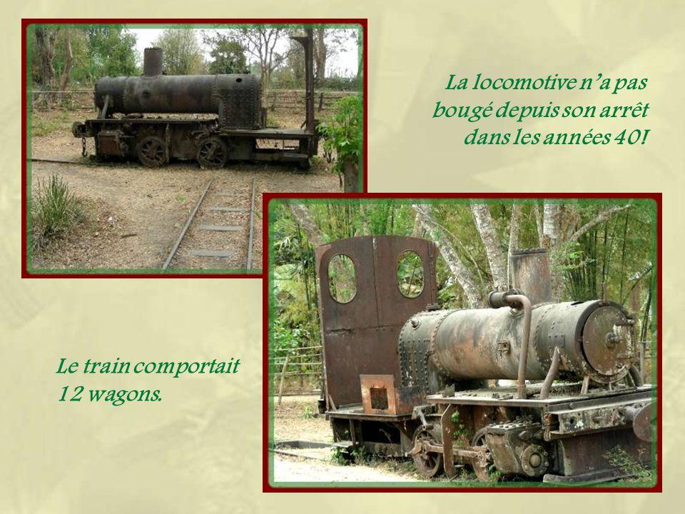 Lancien pont du chemin de fer, bien détérioré en surface!