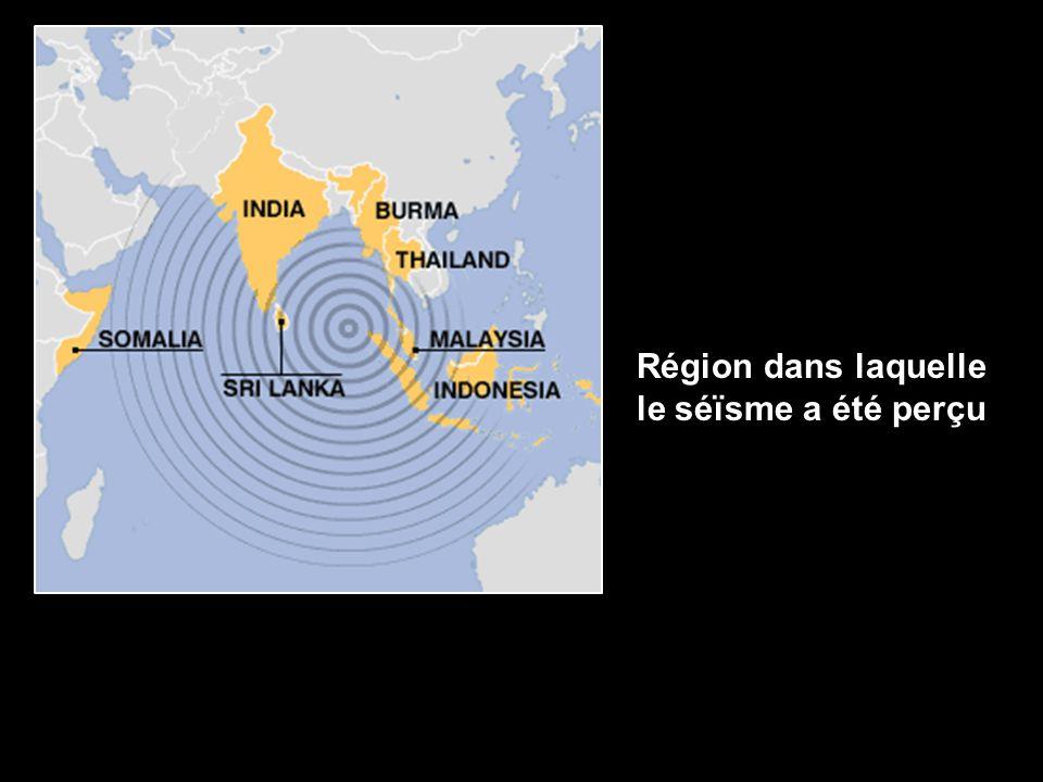 Le mécanisme de formation du tsunami.