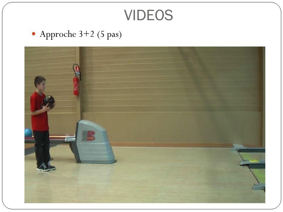 VIDEOS Approche 3+2 (5 pas)