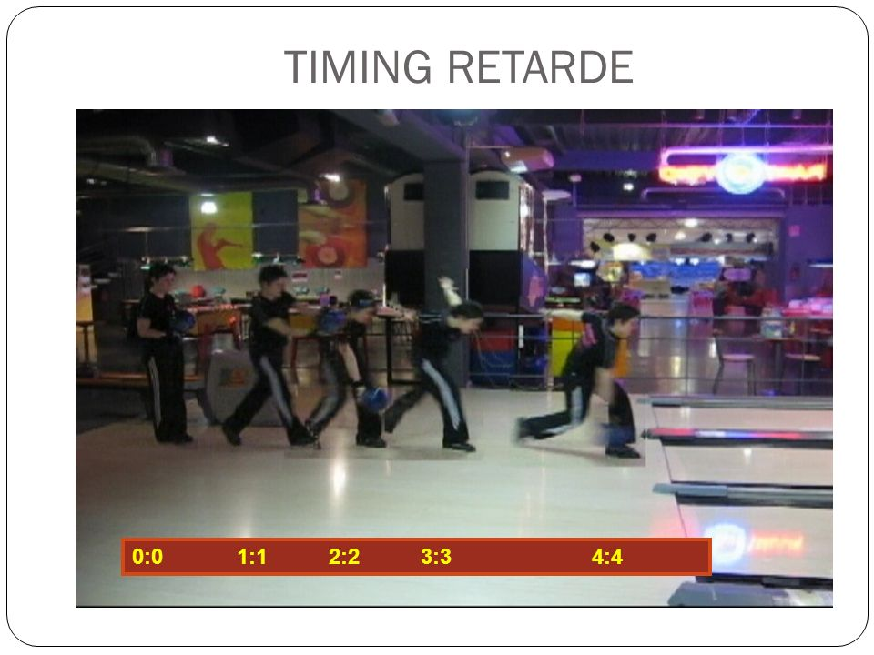 TIMING RETARDE 0:0 1:1 2:2 3:3 4:4