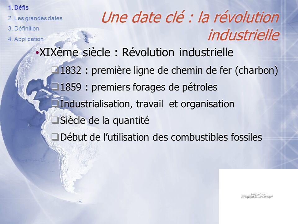 2. LES GRANDES DATES DE LEMERGENCE DU DD
