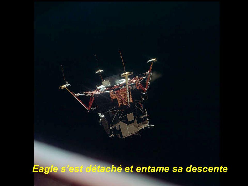 Larrivée en orbite lunaire