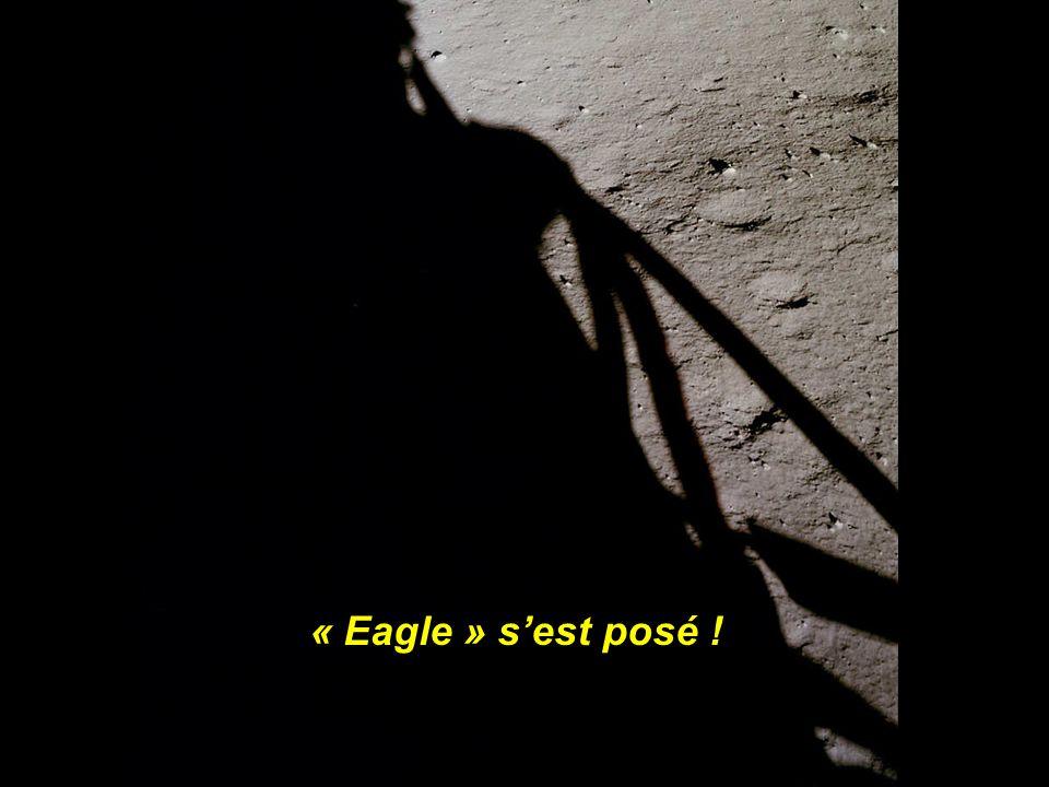 Armstrong pilotera le module lunaire en manuel,et alunira à 7 km du point prévu. Il ne leur restait plus que 16 secondes de carburant !!