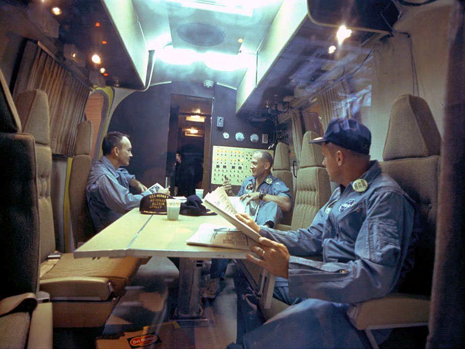 Lors des premières missions lunaires, et par précaution, les astronautes étaient mis en quarantaine