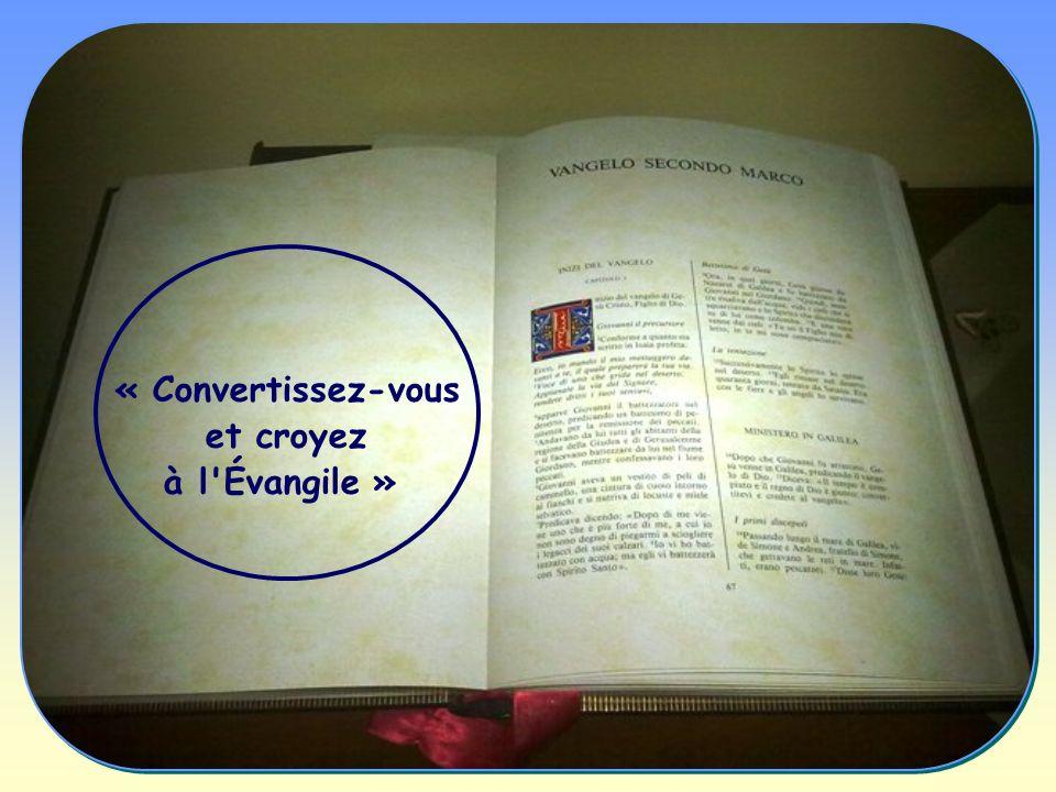 Car communier à cette Parole, qui est une présence de Dieu, rend libre, purifie, convertit, réconforte, apporte la joie et donne la sagesse.