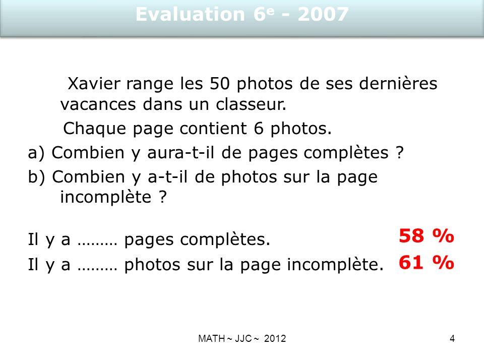 4 Xavier range les 50 photos de ses dernières vacances dans un classeur.