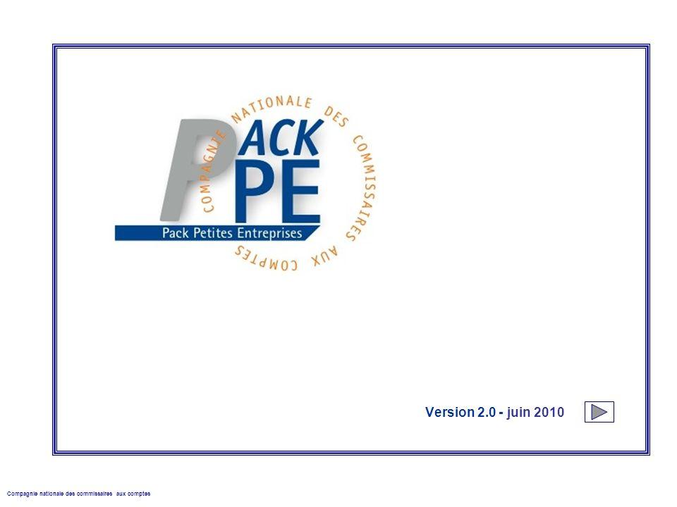 Compagnie nationale des commissaires aux comptes Version 2.0 - juin 2010