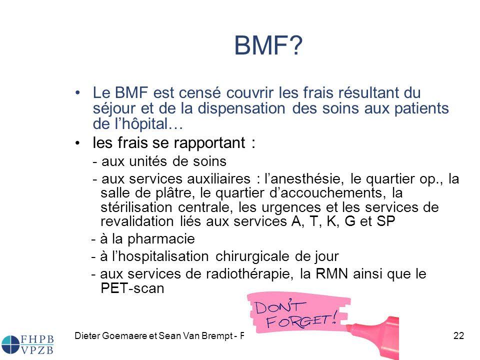 Dieter Goemaere et Sean Van Brempt - FHPB asbl22 BMF.