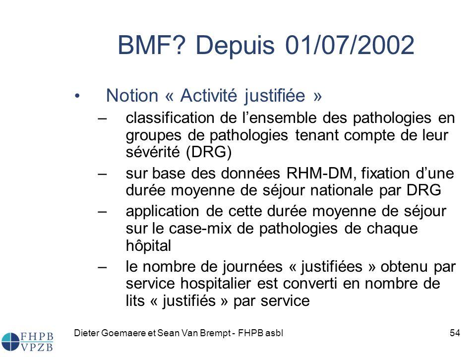 Dieter Goemaere et Sean Van Brempt - FHPB asbl54 BMF.