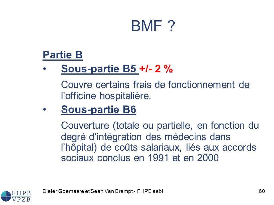 Dieter Goemaere et Sean Van Brempt - FHPB asbl60 BMF .
