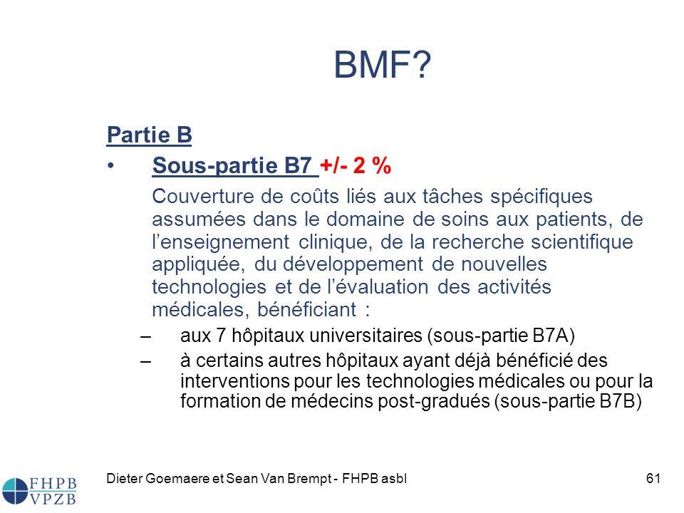 Dieter Goemaere et Sean Van Brempt - FHPB asbl61 BMF.
