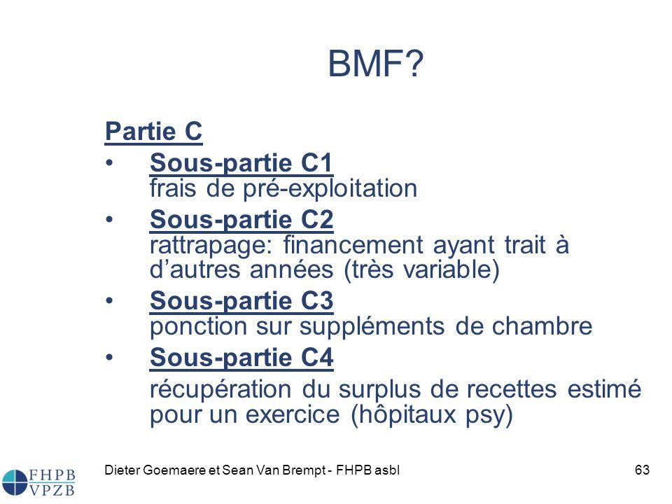 Dieter Goemaere et Sean Van Brempt - FHPB asbl63 BMF.